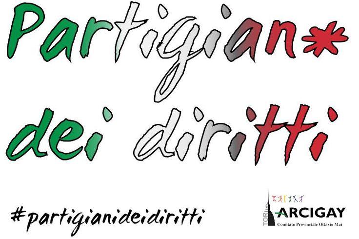 #partigianideidiritti