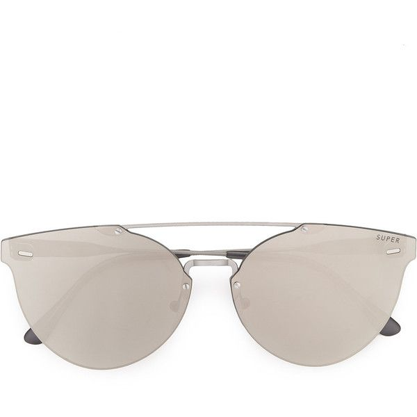 Retrosuperfuture frameless sunglasses (16.055 RUB) via Polyvore featuring accessories, eyewear, sunglasses, retrosuperfuture sunglasses, retrosuperfuture, retrosuperfuture glasses и nude sunglasses