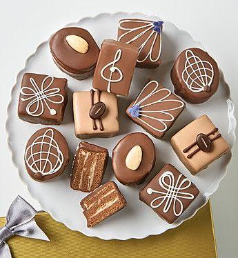 Decadent Chocolate Petits Fours