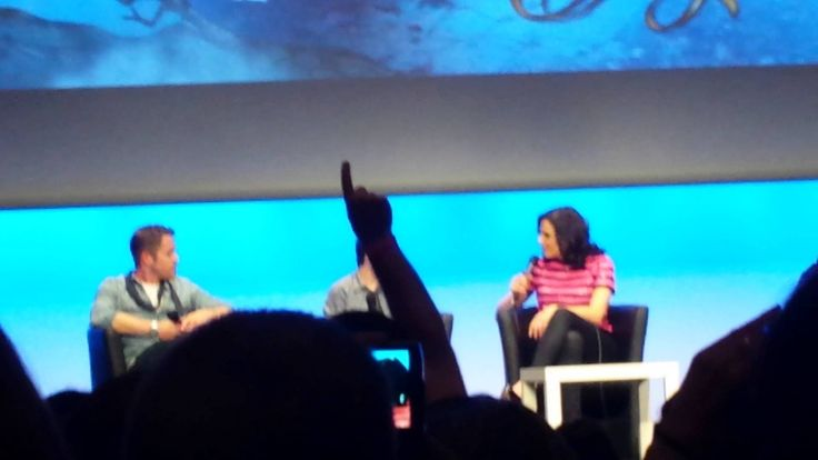 Lana Parrilla, Jared Gilmore and Sean Maguire, Fairy Tale Xivents convention II Part 1 - June 22, 2014