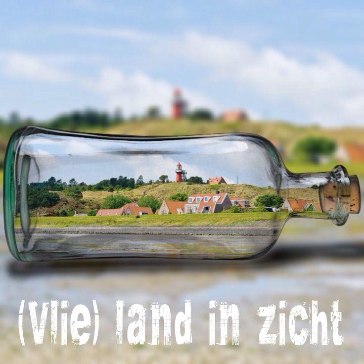 ( Vlie ) - land in zicht