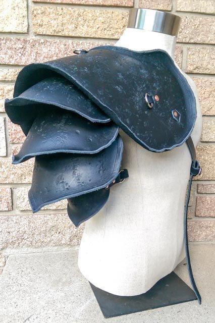 Viking Leather Pauldron                                                                                                                                                                                 More