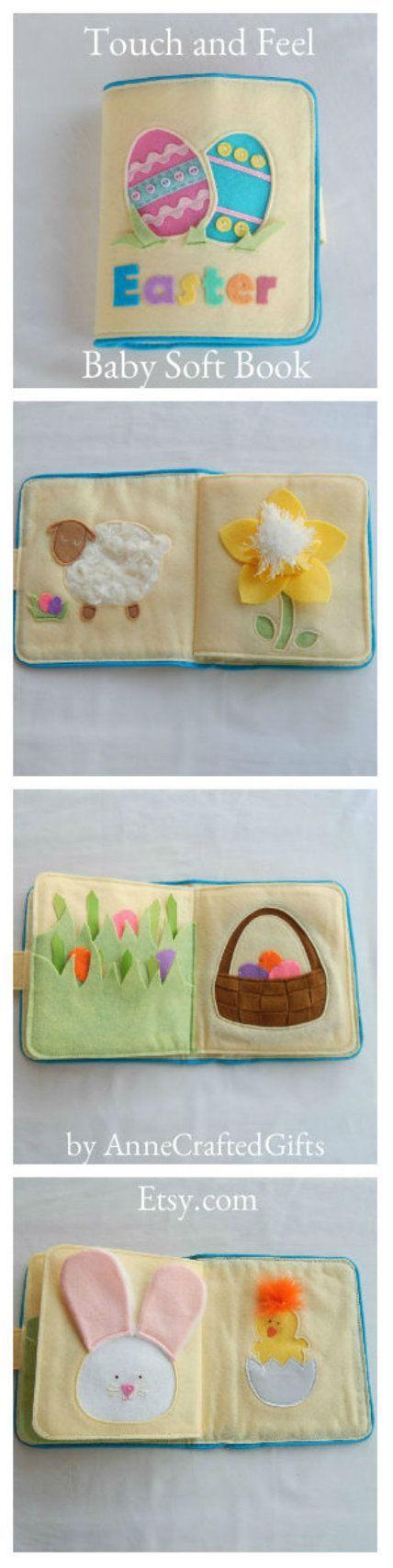 Dieses einzigartige ruhige Buch ist eine süße Geschenkidee für den Osterkorb …