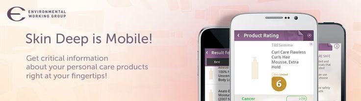 Download the SkinDeep App!