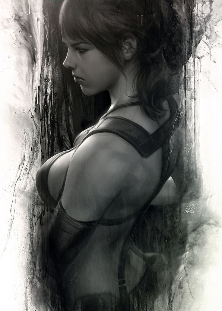 Quiet Moment Created by Stanley Lau (Artgerm) / Find this artist on DeviantArt & Facebook / More Arts from this artist on my Tumblr HERE