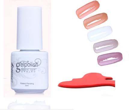 168 cores unhas de Gel polonês Gel de longa duração Soak off unhas de Gel unhas de Gel UV 5 ml 1 Pcs verão alishoppbrasil
