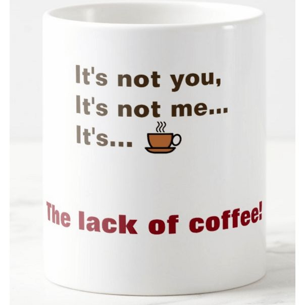 Do you get nicer after drinking your #morning cup of #coffee? #humor More funny mugs: http://dld.bz/fJkdb