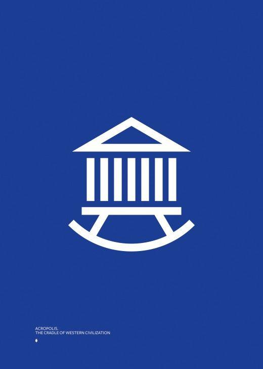 Acropolis. The Cradle of Western Civilization Poster
