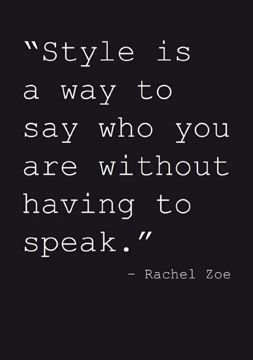 Quote about style