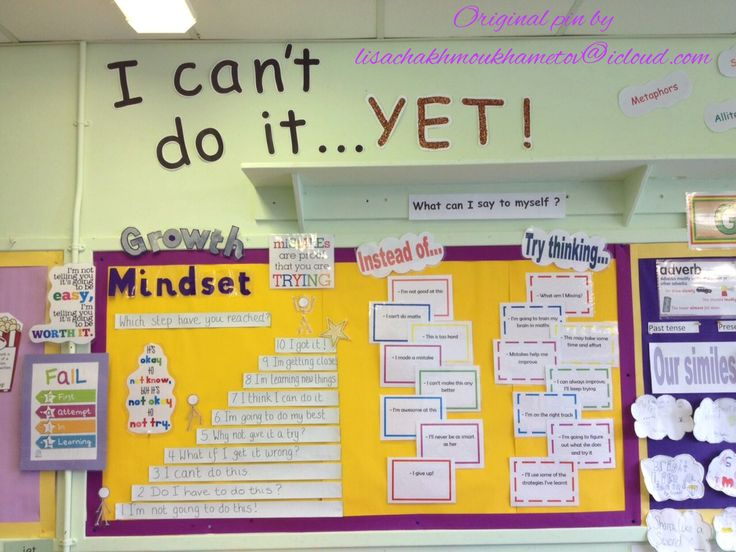 My first attempt at a Growth Mindset display ... It really did change the children's mindsets :)