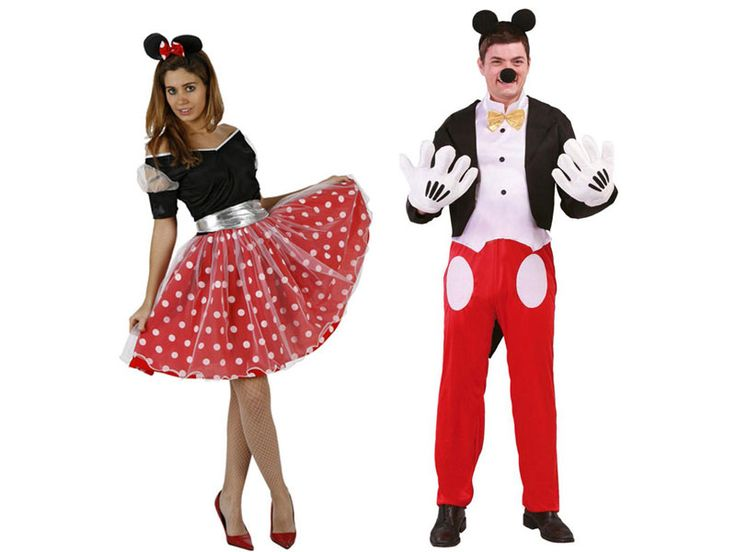 Pareja Disfraces de Ratoncitos #parejas #disfraces #carnaval
