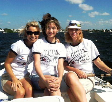 2013 FWF Heels & Reels Girls Fishing Tournament information.