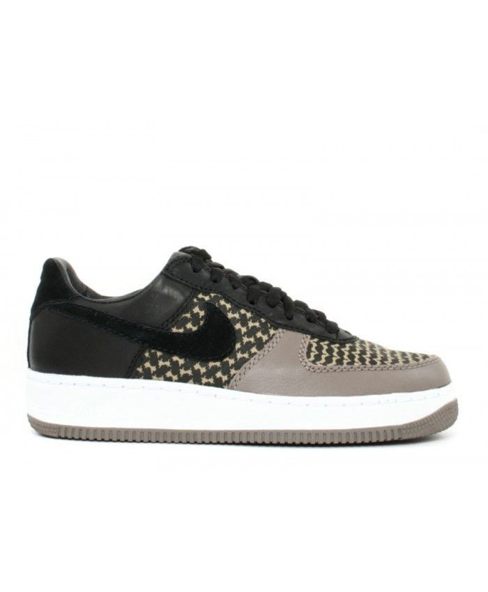 Air Force 1 Low Io Premium Undefeated Black, Black Green Bean-Olive Grey 313213-032