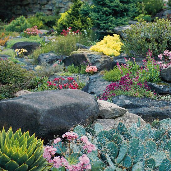 Try adding a few beautiful, nonplant elements to your yard with these ideas for landscaping with rocks and stones.