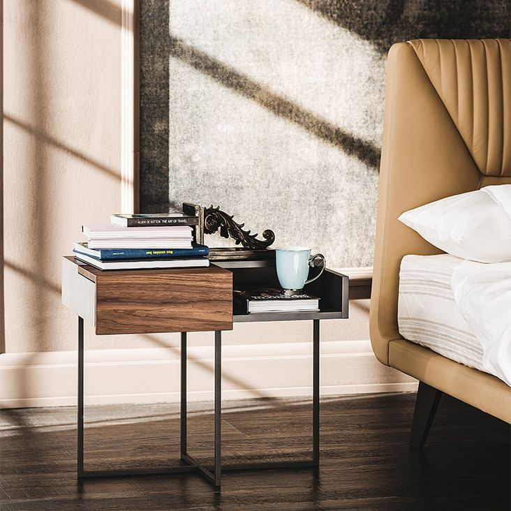 Cattelan Italia Dante nightstand by Andrea Lucatello