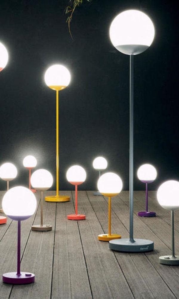 Mooon! Floor Lamp | Outdoor floor lamps, Round lamp, Floor lamp