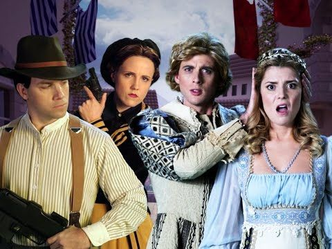 Romeo and Juliet vs Bonnie and Clyde. Epic Rap Battles of History Season 4 - YouTube