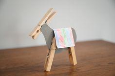 How to make a Palm Sunday donkey from St. Barnabas Tunbridge Wells Sunday School