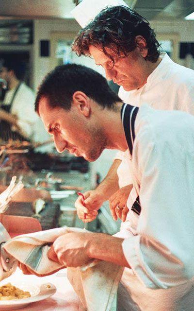 Giorgio Locatelli .. Brilliant Italian chef.