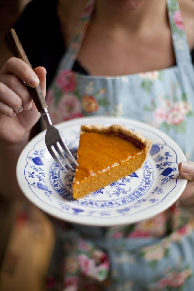 Ginger and Cinnamon Spiced Pumkin Pie