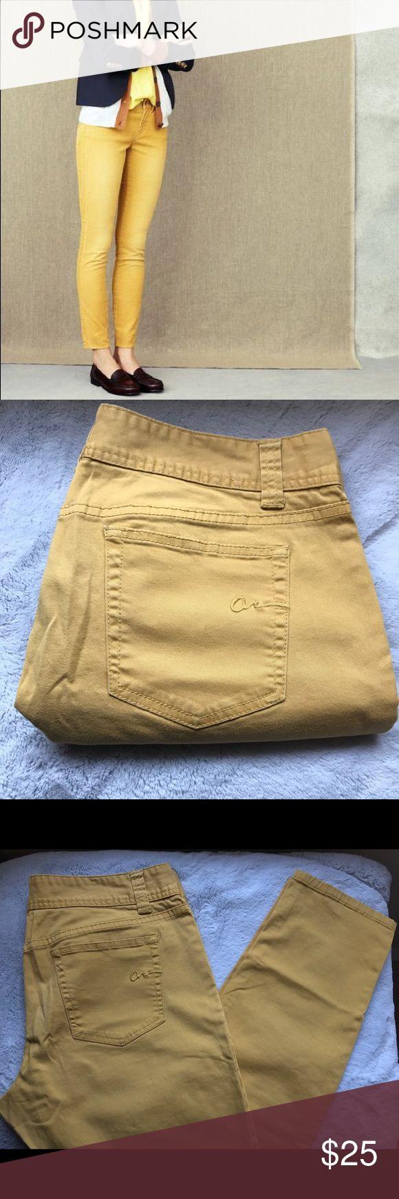 American Rag Jeans American Rag Jeans. Mustard Yellow / Skinny/ Short Length. Junior's Size. Great Condition. American Rag Jeans Skinny