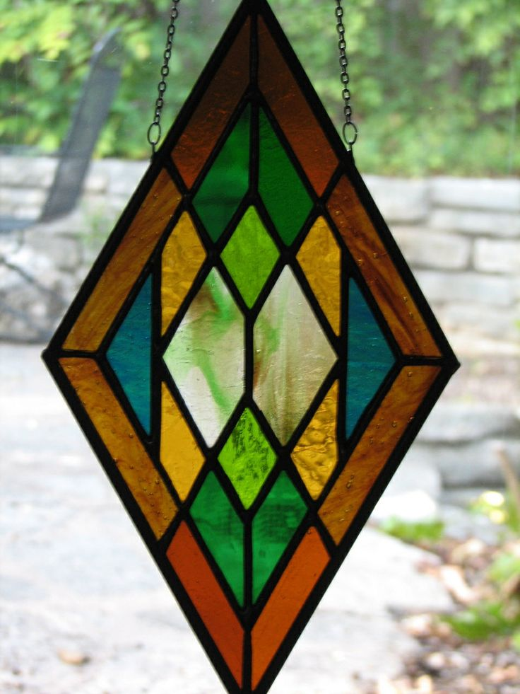 239 best stained glass geometric patterns images on for Window shapes and designs