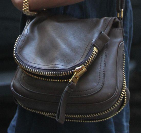 Tom Ford's Jennifer Bag. Love It!!! Jennifer Aniston Carries Her Namesake Tom Ford Bag on Set