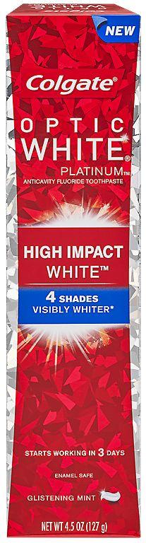 Missi Rose's Views: Colgate Optic White Platinum High Impact White Toothpaste #DesignerSmile