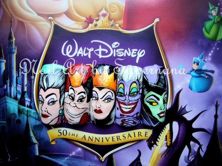 Mes méchantes de Walt Disney...
