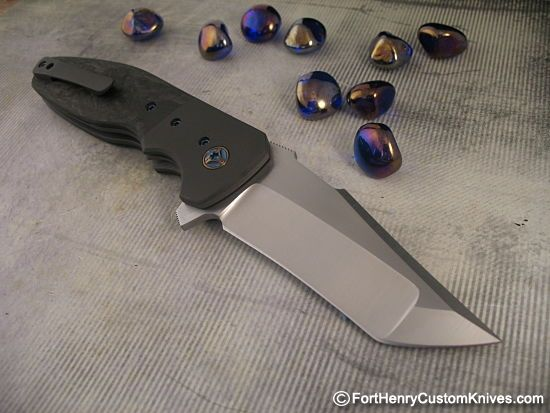 "This is Kirby's superbly designed Augustus with an MGT Blade. This design just won ""Best Tactical Folder"" at Blade 2016!!"