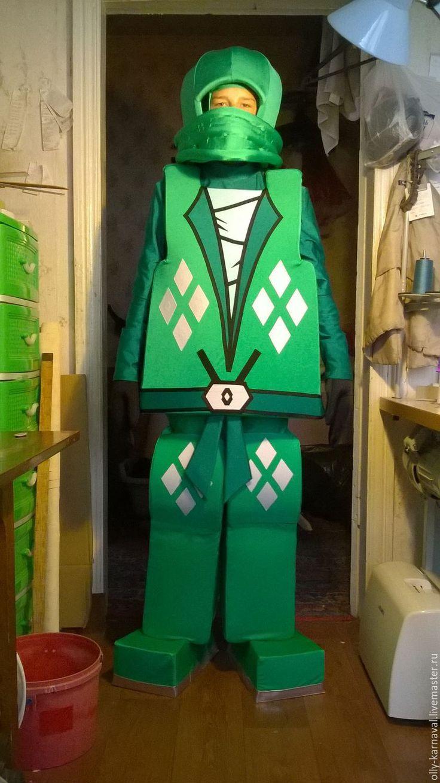 """Купить Костюмы персонажей из мф """"Лего. Ниндзяго"""" - комбинированный, лего, ниндзяго, лего-ниндзя #lego #costume #ninjago #cosplay"""