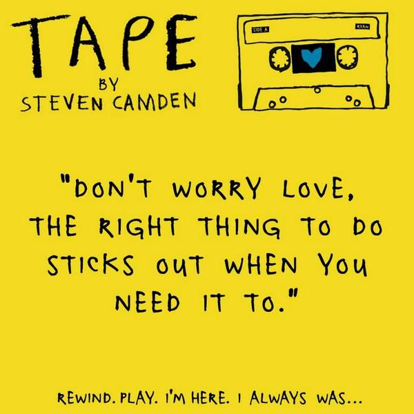All About TAPE by Steve Camden   Blog   Epic Reads