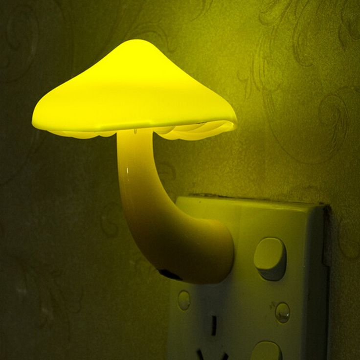 Ideal Eu us stecker pilz steckdose licht gesteuert sensor led nachtlichter lampe schlafzimmer baby auto