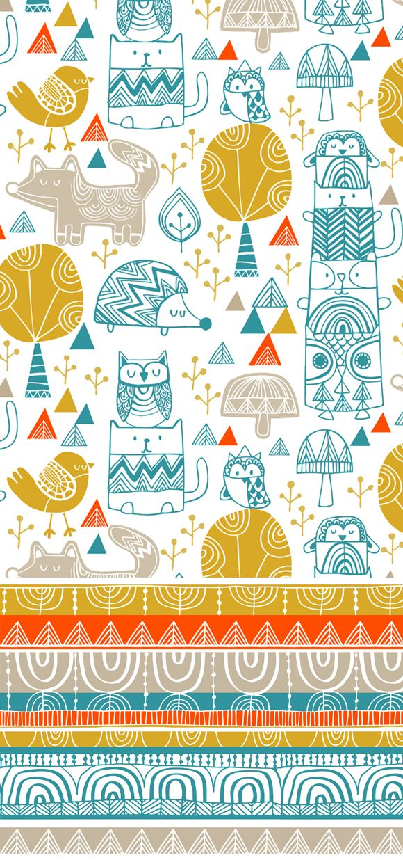 wendy kendall designs – freelance surface pattern designer » teepee town