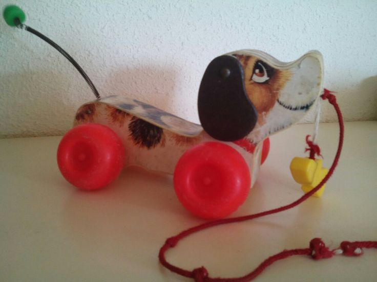 Fisher Price: vintage pull Snoopy