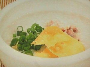 簡単中華がゆ&白切鶏(パイチェチー)