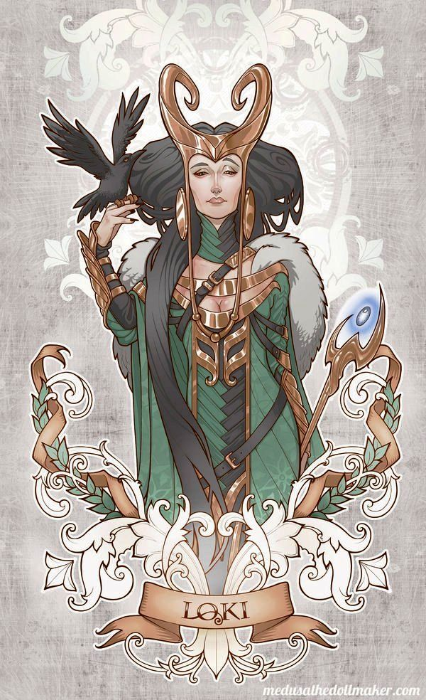 Lady Loki by Asuncion Macian Ruiz                                                                                                                                                                                 More