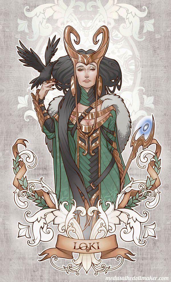 Lady Loki by Asuncion Macian Ruiz