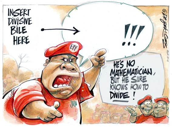 Malema: The master of division