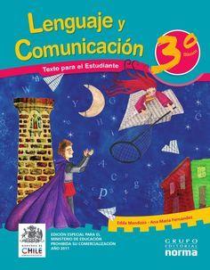Lenguaje y comunicación, 3er grado primaria  Libro de Lengua tercer grado primaria (básica). Libros chilenos de distribución gratuita.