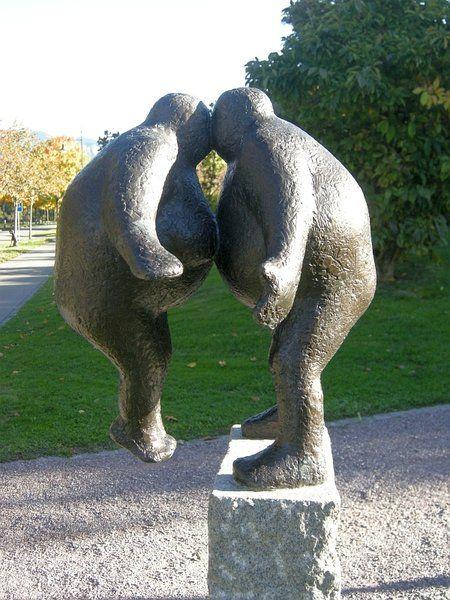 """""""The Kiss"""" Keld Moseholm (Denmark) http://moseholm.dk"""
