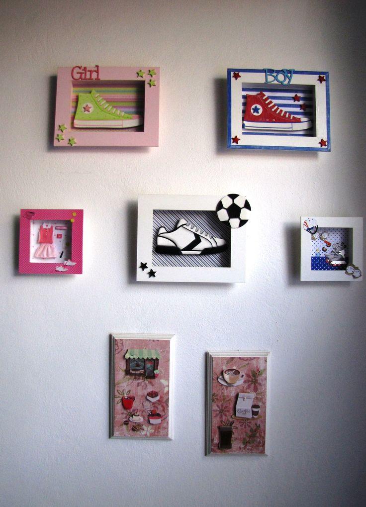 Variedad de cuadros para decorar,en el cuarto de los chicos o la ...