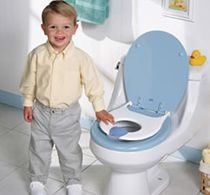:: How to potty train your child :: Potty training is all about patience and resilience. Cultivate a habit in your child by disapproving him every time he dirties his diaper. Instead beating him up, be patient and encourage him to use the potty instead.