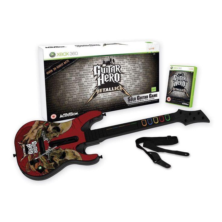 Guitar Hero Metallica Guitar Bundle Xbox 360 PAL *VGWC ...