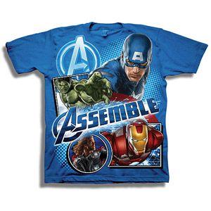 Marvel Avengers Assemble Boys' Graphic Tee