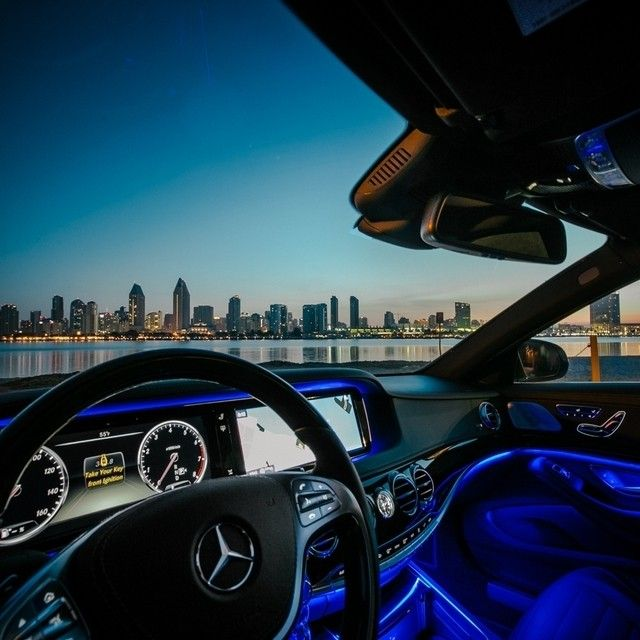 14 best images about ambient lighting on pinterest for Mercedes benz of southern california