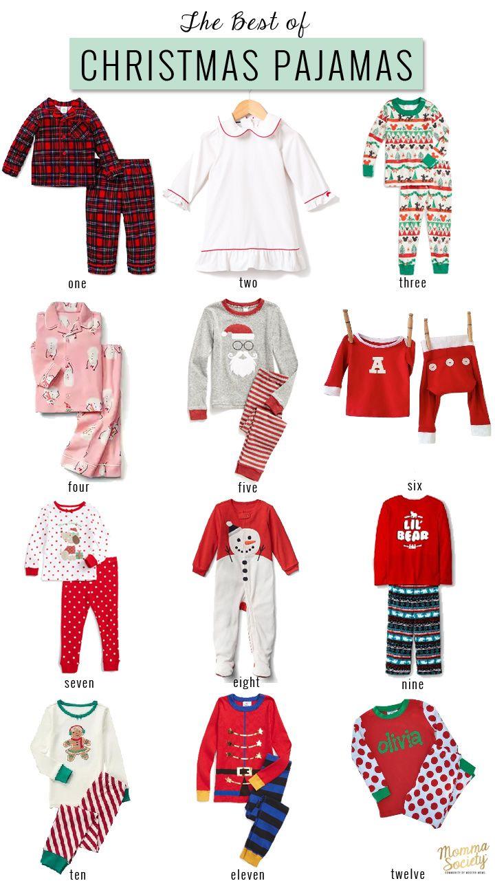 Cute Christmas Pajama for Kids | Family Christmas Pajamas | Holiday Pjs | Christmas Pjs | Momma Society-The Community of Modern Moms