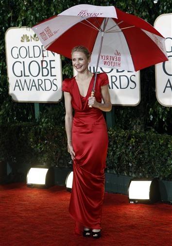 Cameron Diaz, Red Carpet Golden Globes 2010