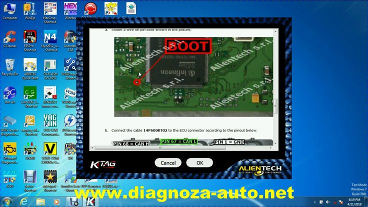 Ktag 7.020 and Tricore ECU