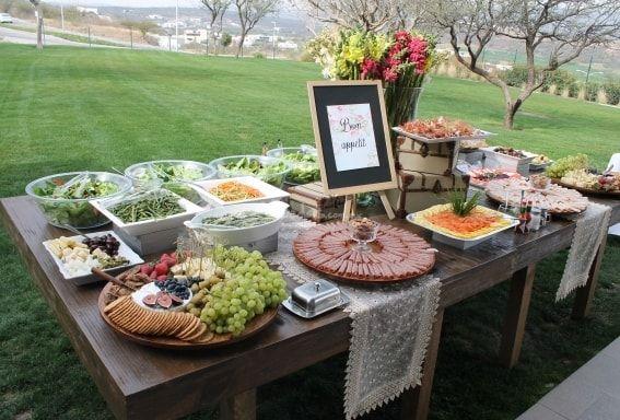 Resultado de imagen para buffet italiano bodas